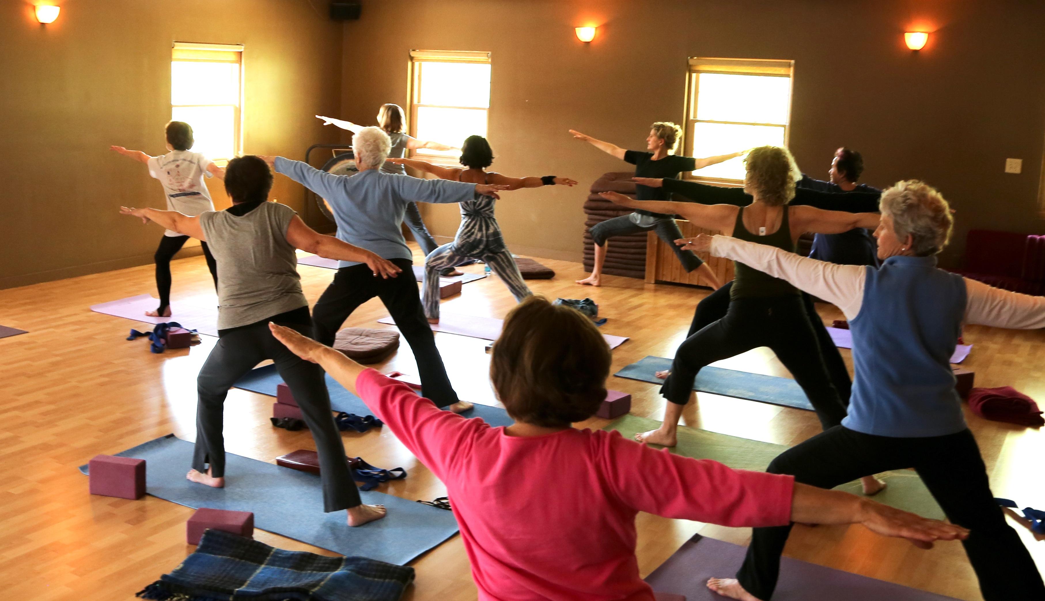 Yoga, natural healing